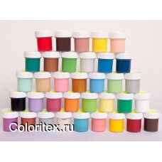 Краски акриловые глянцевые для росписи свечей от Coloritex Group